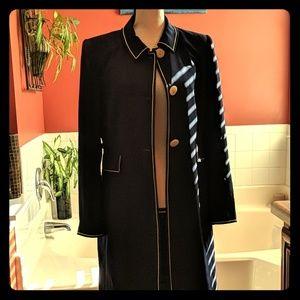 Dark blue John Meyer coat
